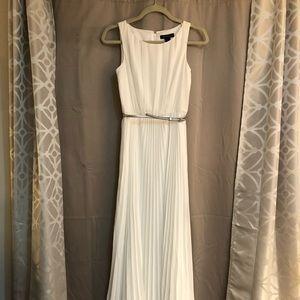 WHBM floor length formal dress